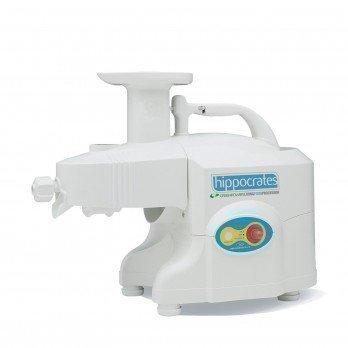Greenpower Hippocrates GPT-1305 Plus Twin Gear Juicer - White