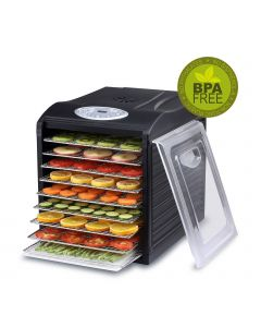 BioChef Arizona Sol 9 Tray Food Dehydrator - Black