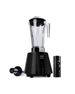 biochef living food vacuum blender black