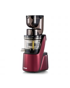 BioChef Quantum Whole Slow Juicer Burgundy right side